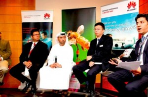 Huawei transforms office of the future with AnyOffice bring-your-own-device at GITEX