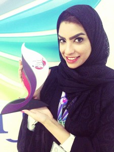 Nawras female engineer honoured at Al Mar'a Excellence Awards
