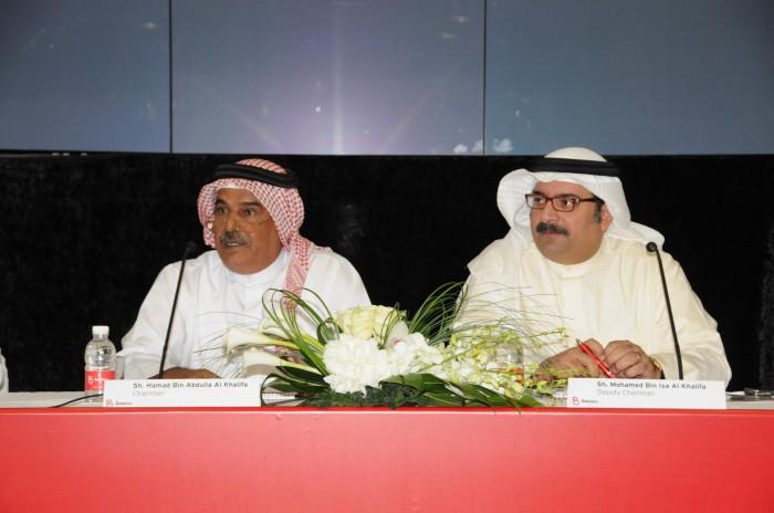 AGM 2011 -  Shaikh Hamad and Shaikh Mohammed