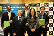 Etisalat Huawei LTE Signature Ceremony