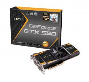 The new ZOTAC GeForce GTX 590