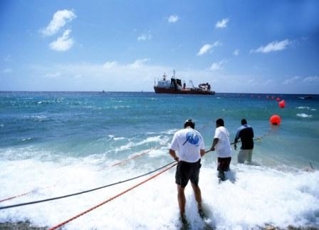 Curacao 1 Landung