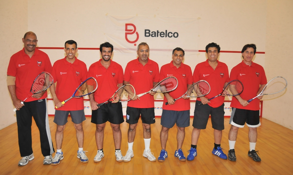 Batelco Squash Team 2011 at Hamala