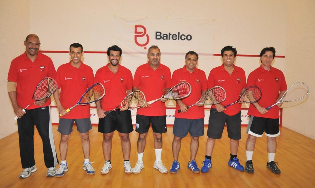Batelco Squash Team 2011 at Hamala