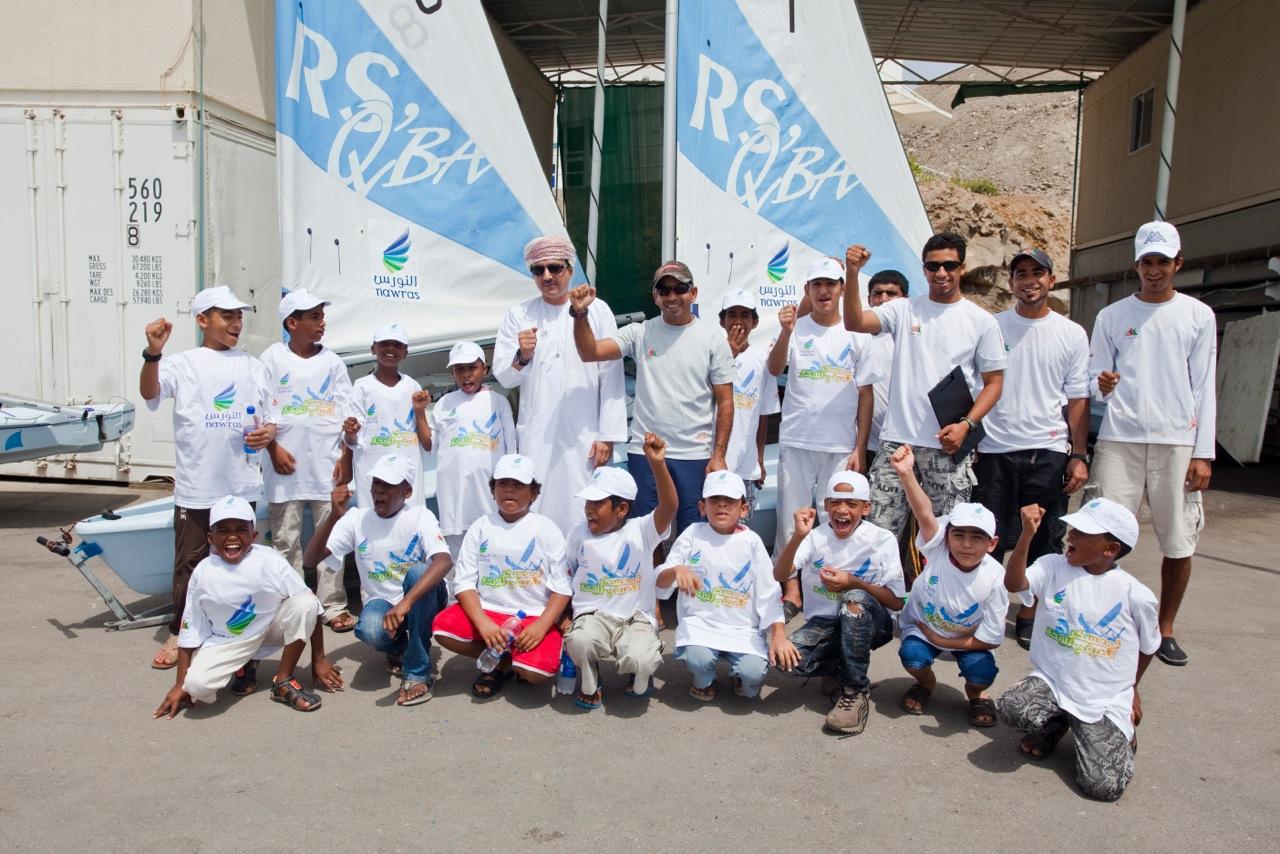 Nawras sponsors Oman Sail Summer School