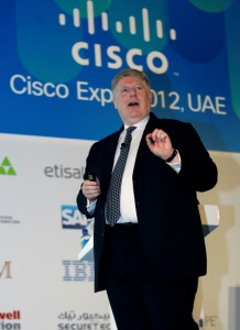 Cisco's Senior Vice President, Office of the President's Keynote at UAE Expo 2012 Heralds the Arrival of Pervasive Computing
