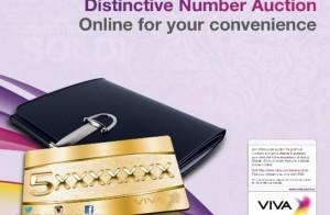 VIVA announces latest premium numbers auction