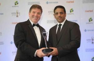 Ooredoo rebrand wins Global Award