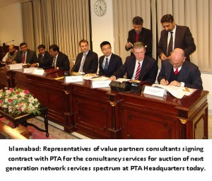 PTA AND VALUE PARTNERS SIGN CONTRACT